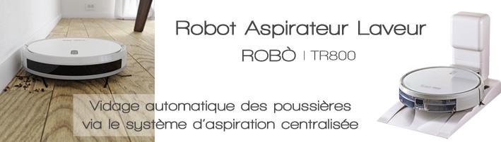 robot aspirateur laveur tr800 aertecnica